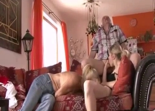 Blonde groomed and molested by her parents