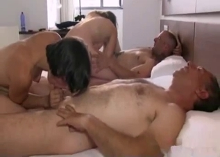 Four-way incestuous fucking session