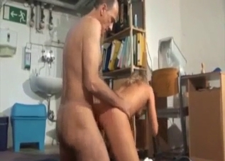 Doggy style incestuous fucking on cam