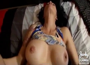 Intense POV action with a MILF