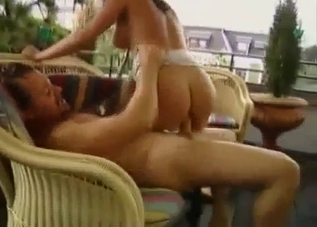 Balcony incest banging turns intense