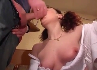 Nasty redhead wants to fuck her father