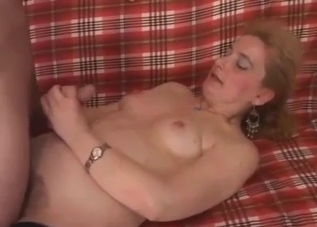 Mature blonde works that hot cock