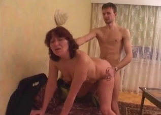 Doggy style banging with his mommy