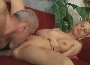 Pigtailed blonde enjoying extreme sex