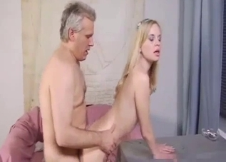 Blonde wants daddy's hot cock here