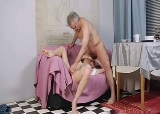 Blondie lovingly blows her daddy