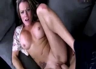 MILF blonde enjoying intense POV sex