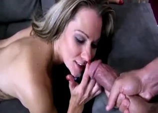 MILF blonde enjoying intense POV sex