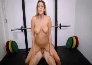 Leggy MILF bitch drilled brutally from behind