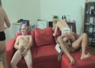 Foursome incest with siblings and parents