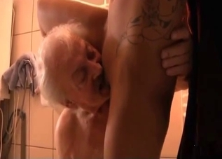 Sexy father eating that juicy pussy