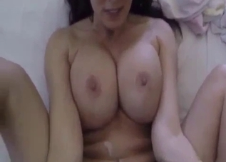 Big-breasted mommy fucked in POV