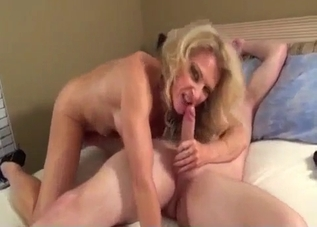 MILF enjoying incestuous fucking