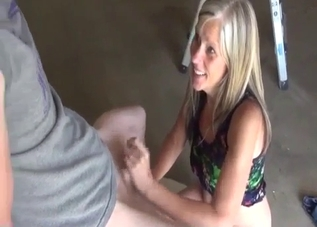 Mommy blowing her boys outdoors