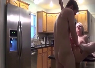 Blond-haired daughter fucked hard